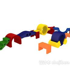 儿童组装玩具3d模型下载