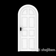拱形门3d模型下载