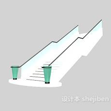 复式楼旋转楼梯3d模型下载