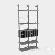 办公柜-文件柜7-5套3d模型下载