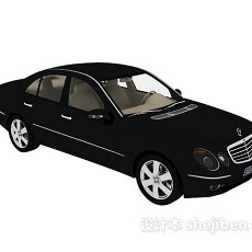 奔驰汽车汽车3d模型下载
