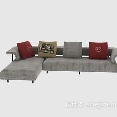 l型沙发3d模型下载