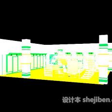 药店展厅3d模型下载