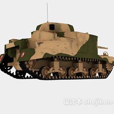 虎式坦克3d模型下载