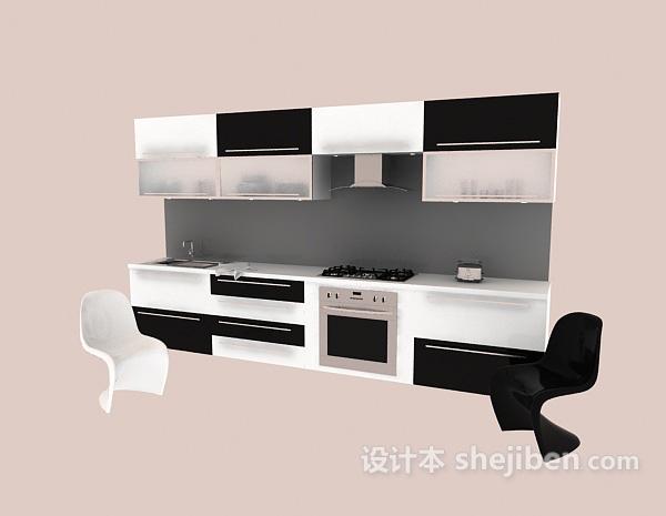 美欧人体_橱柜3d模型下载-设计本3D模型下载
