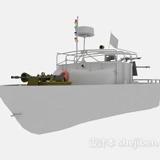战舰、军舰max-军事仿真3d模型下载