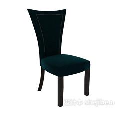 蓝色 单椅 3d模型下载