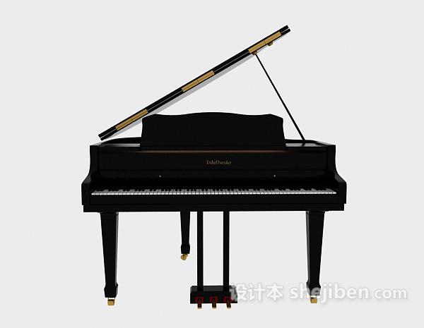 钢琴3D模型下载4