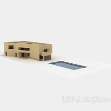 户外建筑043d模型下载