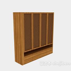 衣柜3d模型下载