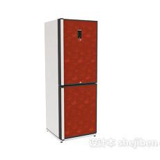 冰箱3d模型下载