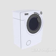 家电005-洗衣机3d模型下载