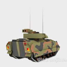 豹2a6主战坦克3d模型下载