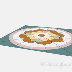 欧式地砖拼花3d模型下载