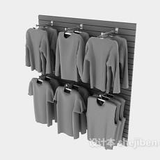 服装店衣服3d模型下载