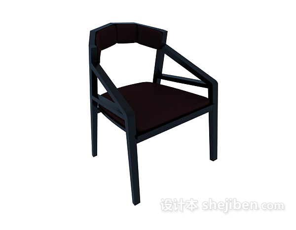 新中式风格3d椅子模型下载