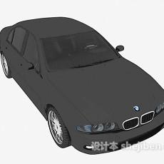 黑色小汽车max汽车3d模型下载
