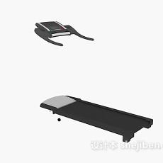 跑步机3d模型下载