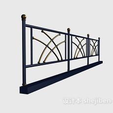 不锈钢栏杆护栏3d模型下载