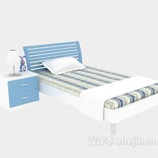 儿童床二3d模型下载