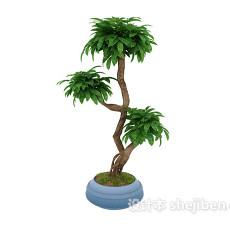 植物3d模型下载