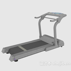 商用跑步机3d模型下载