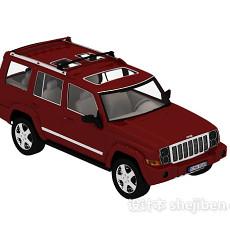 Jeep车汽车3d模型下载