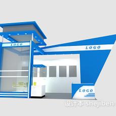 室内场景-展示厅5583d模型下载