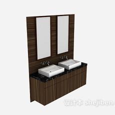 洗手盆3d模型下载
