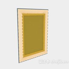 欧式挂画-装饰画3d模型下载