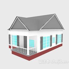 简单木屋3d模型下载