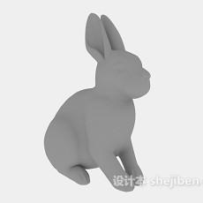 兔子3d模型下载