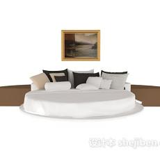 榻榻米床3d模型下载