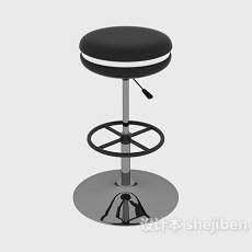 现代吧台凳3d模型下载