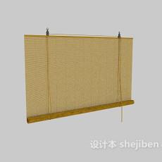 卷帘窗帘3d模型下载
