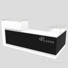 商场收银台3d模型下载