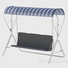 秋千吊椅3d模型下载