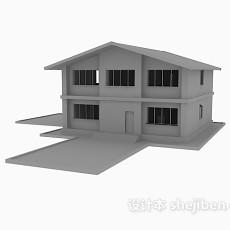 小房子3d模型下载