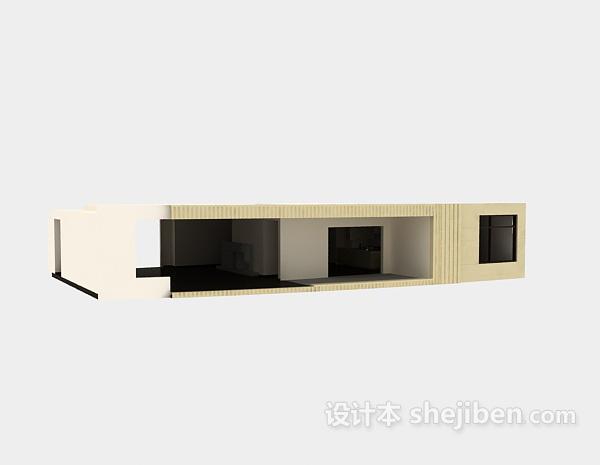 3dmax室内模型下载 厨房模型下载