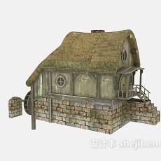 室外建筑3d模型下载