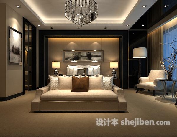 卧室灯模型