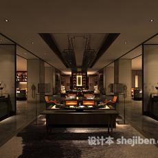 餐厅吊灯3d模型下载