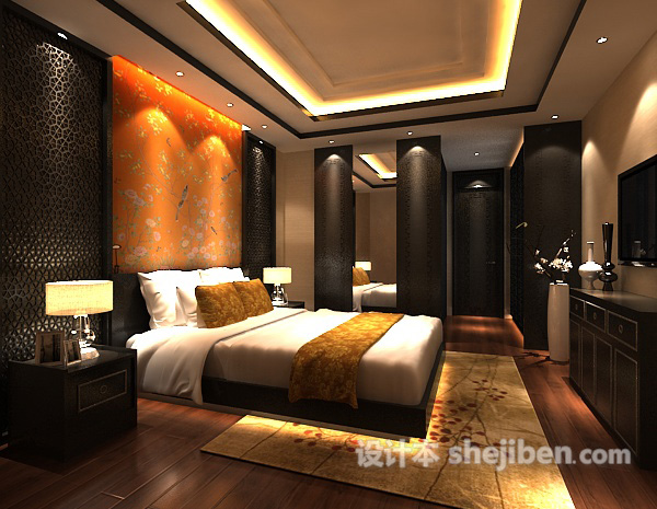 卧室模型下载