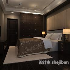 室内卧室3d模型下载
