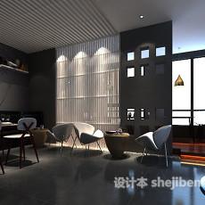 主题餐厅3d模型下载