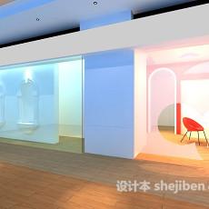 餐厅餐桌3d模型下载