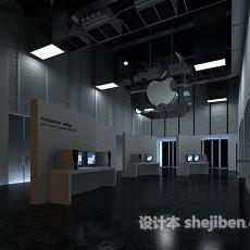 苹果手机展厅3d模型下载