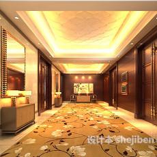 走廊吊顶3d模型下载