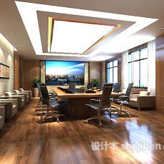 会议室3d模型下载