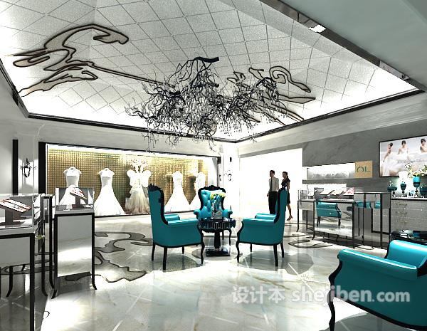 婚纱店3d模型